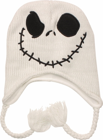 Nightmare Before Christmas Jack Tassel Beanie