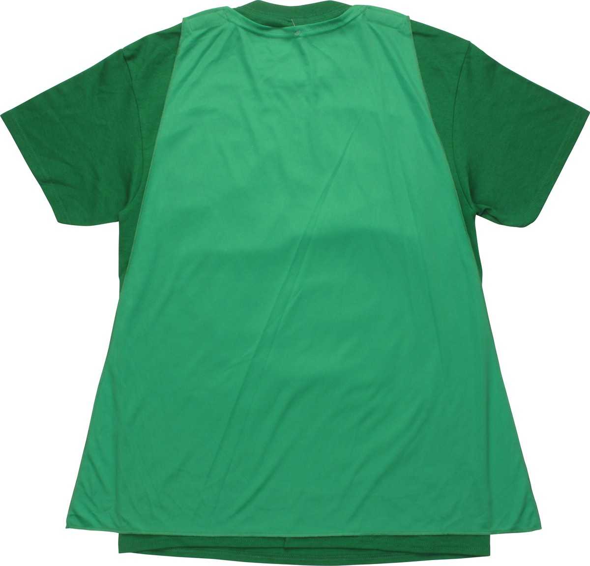 Ninja turtles costume caped t shirt for Green turtle t shirts review