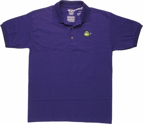 Ninja Turtles Donatello Face Polo Shirt