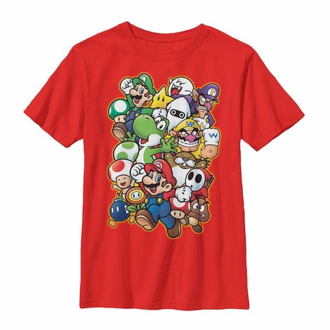 Nintendo Mixed Crowd Youth T-Shirt