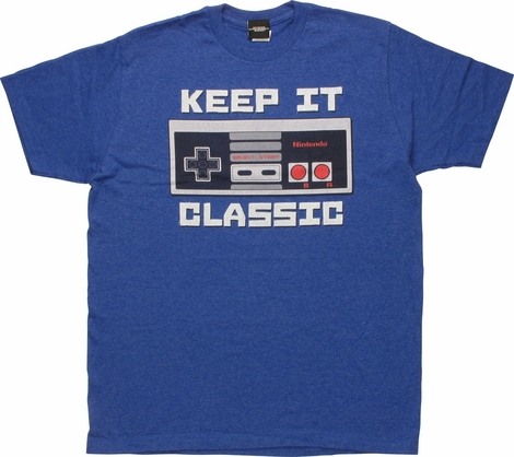 Nintendo NES Keep it Classic T-Shirt