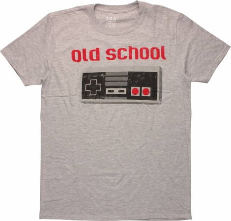 Nintendo Old School Controller T-Shirt