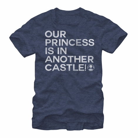 Nintendo Princess in Another Castle T-Shirt