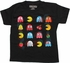 Pacman Action Shadows Grid Youth T-Shirt