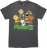 Peanuts Buddies Group T-Shirt Sheer