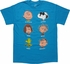 Peanuts Character Descriptions T-Shirt
