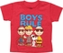 Peanuts Gang Boys Rule Toddler T-Shirt