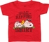Peanuts Snoopy Official Napping Toddler T-Shirt