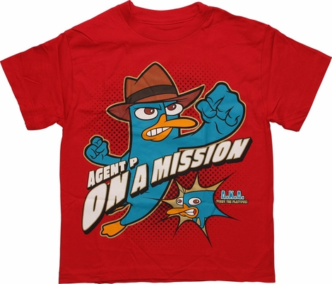 Phineas and Ferb Mission Youth T Shirt
