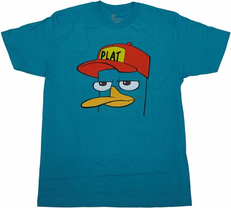 Phineas and Ferb Perry Hat T Shirt Sheer