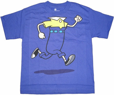 Phineas and Ferb Run Youth T Shirt
