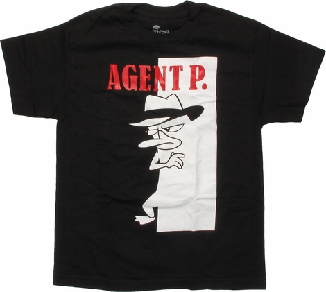 Phineas and Ferb Scarface Agent P Youth T-Shirt