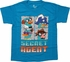 Phineas and Ferb Secret Agent Teal Juvenile Shirt