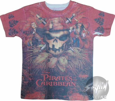 Pirates of the Caribbean Dyed Youth T-Shirt