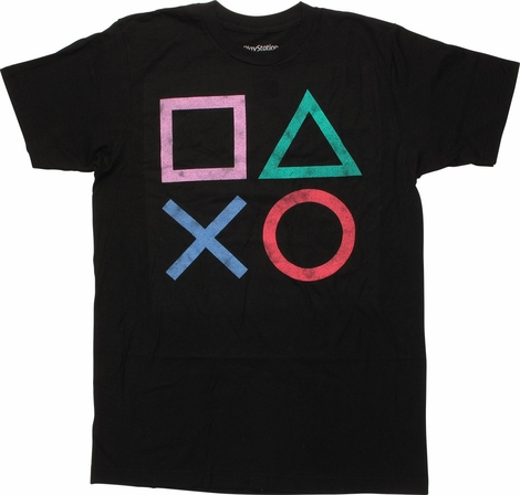 PlayStation Vintage Icons T-Shirt