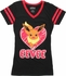 Pokemon Eevee Heart V-Neck Juniors T-Shirt