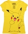 Pokemon Pikachu V Neck Juniors T-Shirt