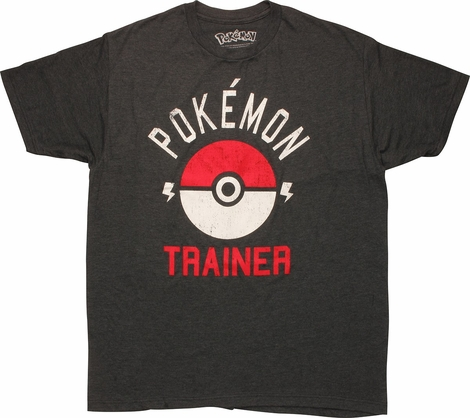 Pokemon Trainer Poke Ball T-Shirt