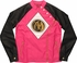 Power Rangers Pink Zip and Snap Mighty Fine Jacket
