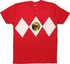 Power Rangers Red No Belt Costume MF T-Shirt