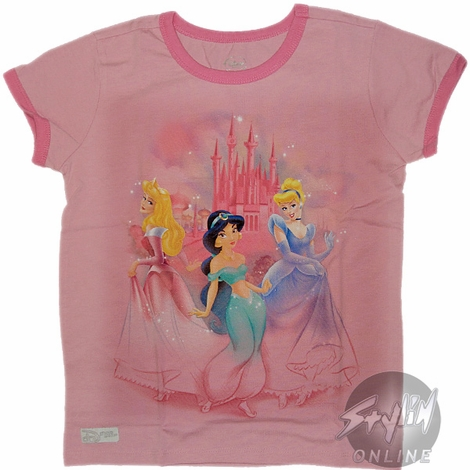 Princesses Posing Youth T-Shirt