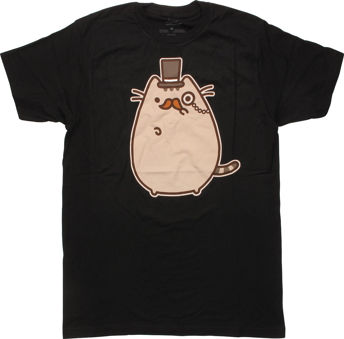 pusheen the cat monsieur t shirt. Black Bedroom Furniture Sets. Home Design Ideas