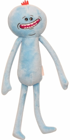 Rick and Morty Mr. Meeseeks Happy Face Plush
