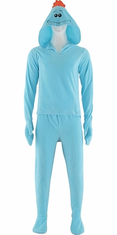 Rick and Morty Mr Meeseeks Hooded Pajama Set