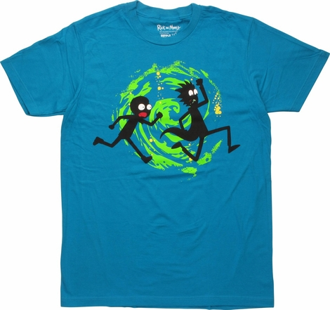 Rick and Morty Silhouettes T-Shirt
