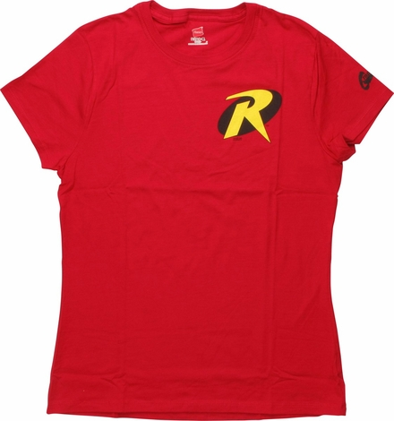 Robin Symbol Ladies T Shirt