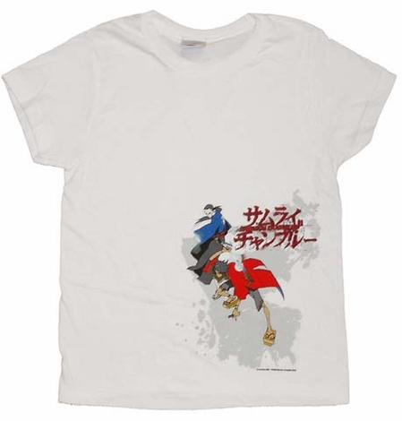 Samurai Champloo Poses Juniors T-Shirt
