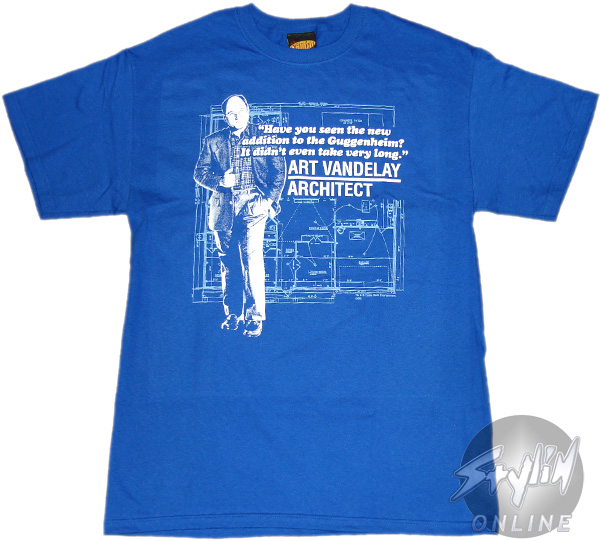 Seinfeld architect t shirt for Architecture t shirts