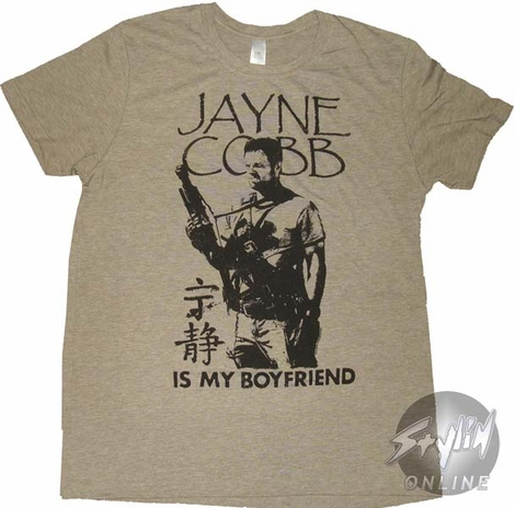 Serenity Jayne is My Boyfriend T-Shirt Sheer