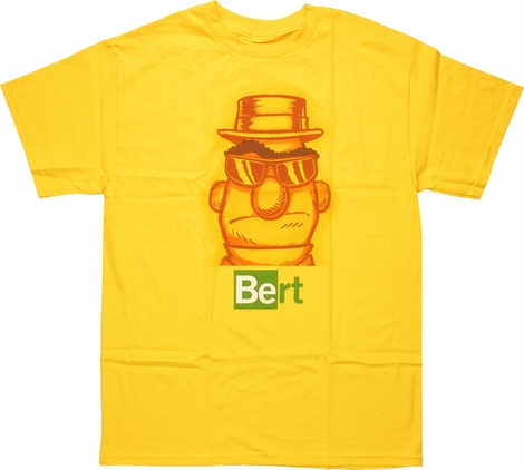 Sesame Street Breaking Bad Bert T-Shirt
