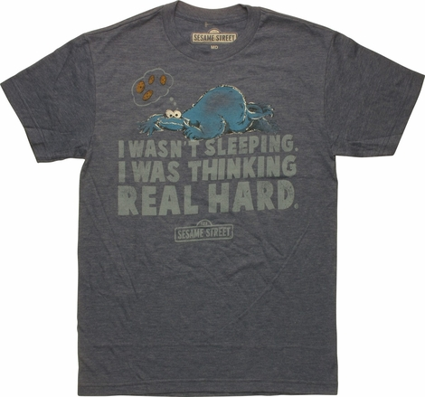 Sesame Street Cookie Monster Sleeping T-Shirt