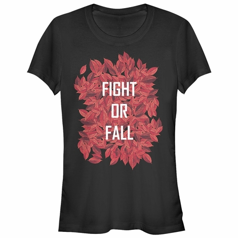 Shannara Chronicles Fight or Fall Juniors T-Shirt