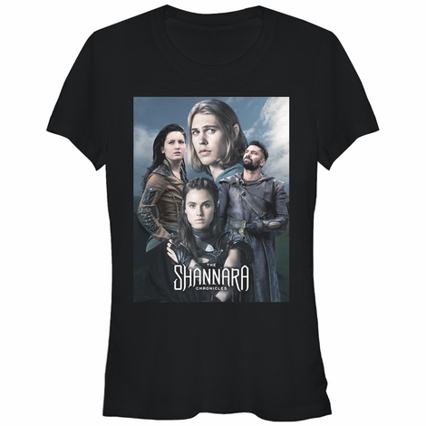 Shannara Chronicles Group Shot Juniors T-Shirt