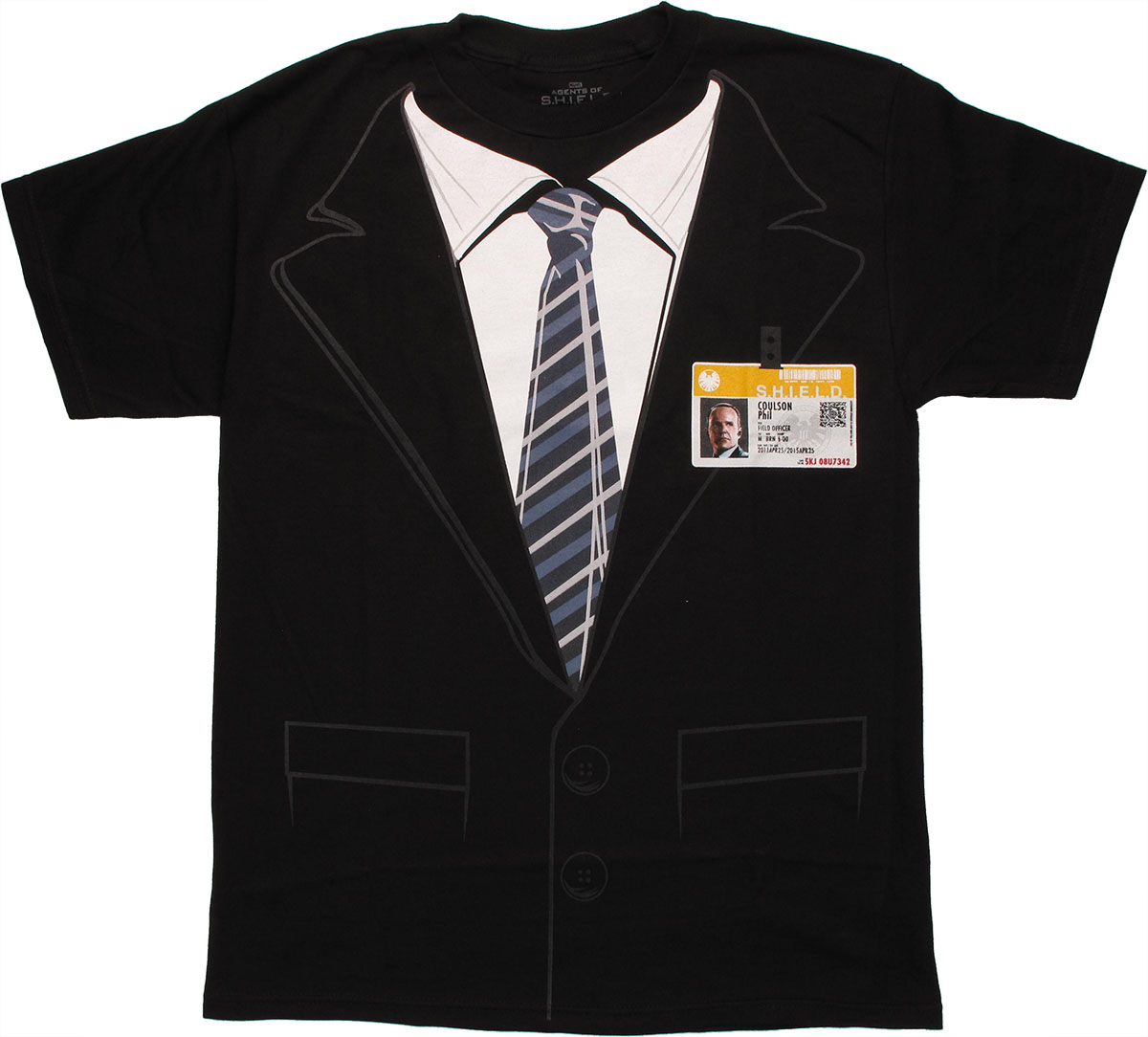 Shield coulson badge costume t shirt for Costume t shirts online