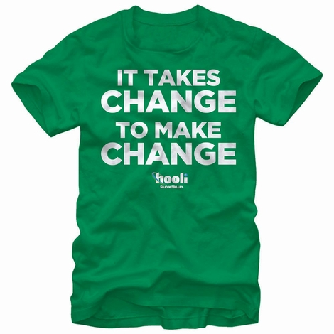 Silicon Valley Takes Change T-Shirt