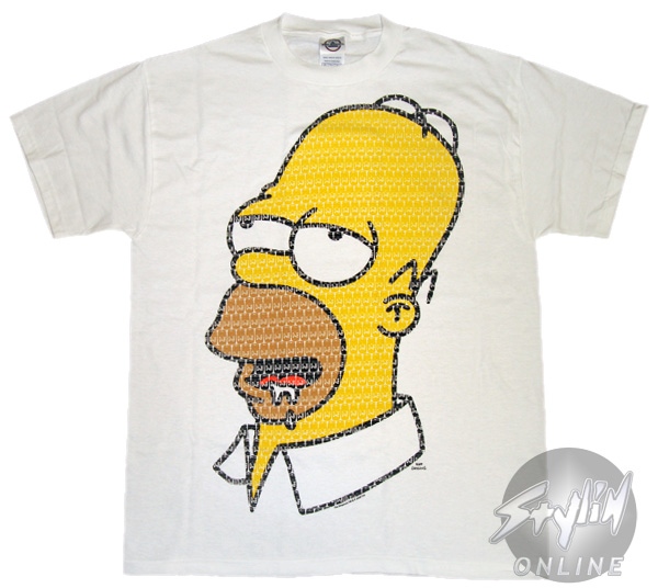 Sgrunfo Homme T Shirt By Tee Simpson homer Simpson l3K1TFJc