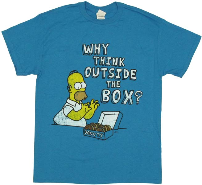 Simpsons homer t shirt for Simpsons t shirts online