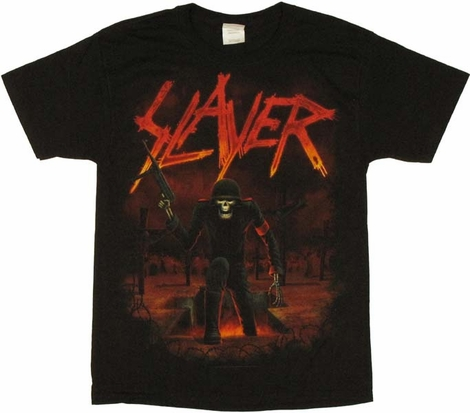 slayer skeleton t shirt. Black Bedroom Furniture Sets. Home Design Ideas
