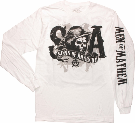 Sons of Anarchy Bike Reaper Long Sleeve T-Shirt