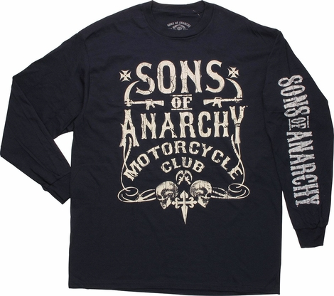 Sons of Anarchy Cycle Club Long Sleeve T-Shirt