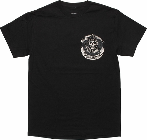 Sons of Anarchy Outlaw Banner T-Shirt