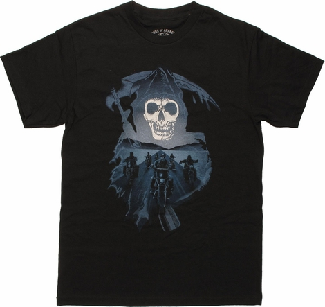 Sons of Anarchy Reaper Road Ride T-Shirt