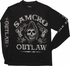 Sons of Anarchy SAMCRO Outlaw Long Sleeve T-Shirt