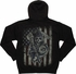 Sons of Anarchy SAMCRO Reaper Flag Zip Hoodie