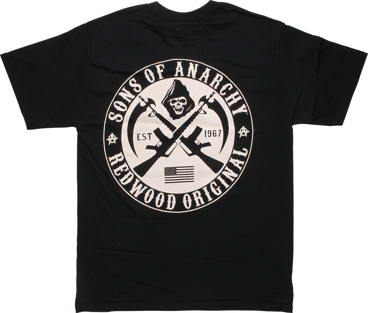 sons of anarchy samcro x pocket logo t shirt. Black Bedroom Furniture Sets. Home Design Ideas