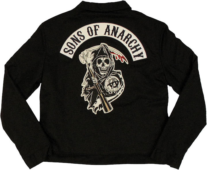 sons of anarchy womens mechanics jacket. Black Bedroom Furniture Sets. Home Design Ideas